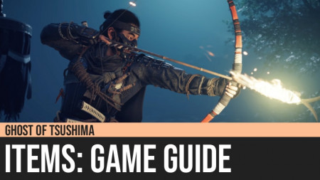 Ghost of Tsushima: Items Guide