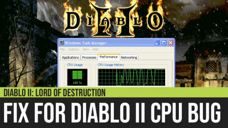 Diablo II: How to Remove the CPU Bug