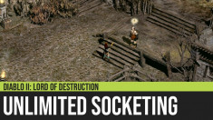Diablo II: Unlimited Socketing with Larzuk