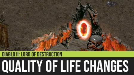 Quality of Life Changes for Diablo II: Lord of Destruction