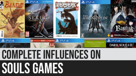Complete List of Influences on Souls Games