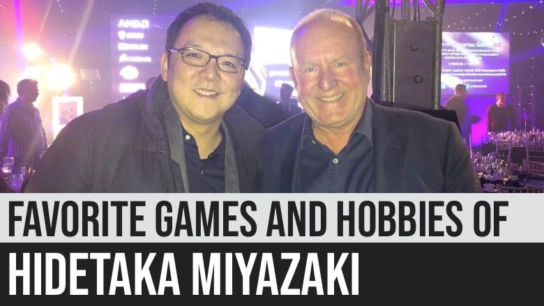 Favorite Games and Hobbies of Hidetaka Miyazaki