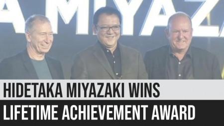 Hidetaka Miyazaki Wins Lifetime Achievement Award