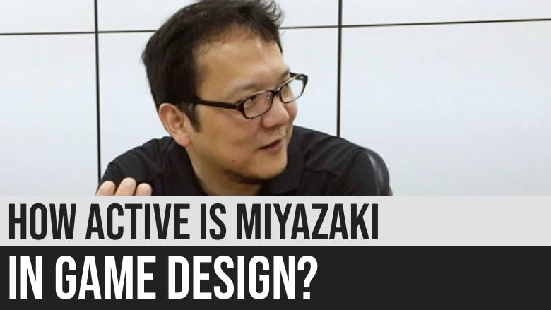 How Active is Hidetaka Miyazaki in Game Design?