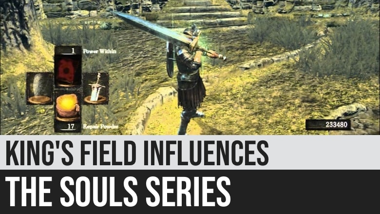King's Field Influences the Souls Series