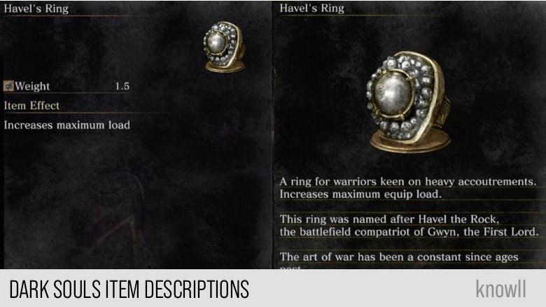 Dark Souls Items