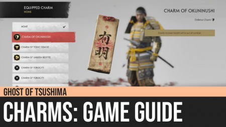 Ghost of Tsushima: Charms Guide