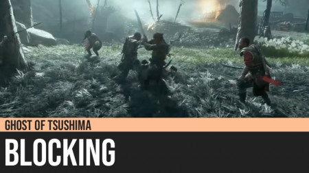 Ghost of Tsushima: Blocking