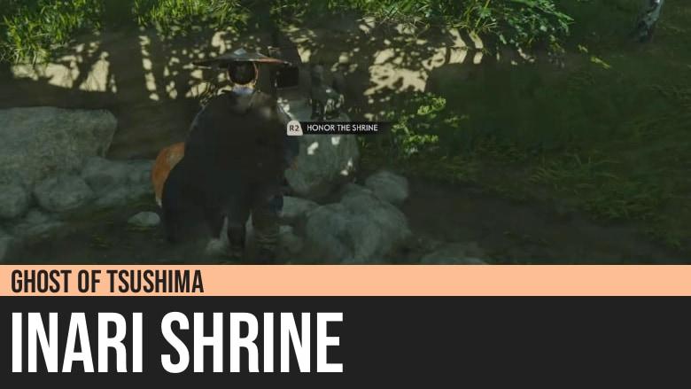Ghost of Tsushima: Inari Shrine