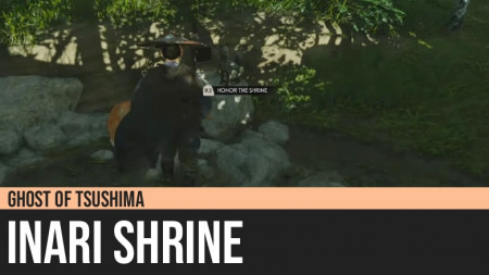 Ghost of Tsushima: Inari Shrine