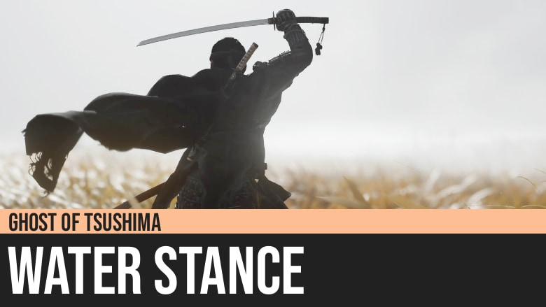 Ghost of Tsushima: Water Stance