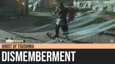 Ghost of Tsushima: Dismemberment
