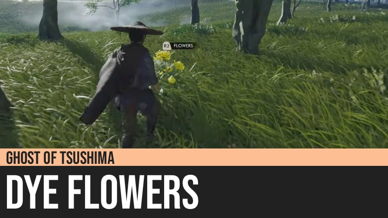 Ghost of Tsushima: Dye Flowers