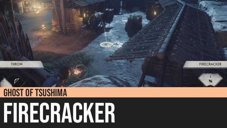 Ghost of Tsushima: Firecracker