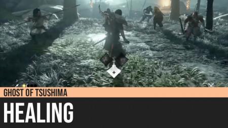 Ghost of Tsushima: Healing
