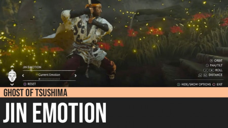Ghost of Tsushima: Jin Emotion