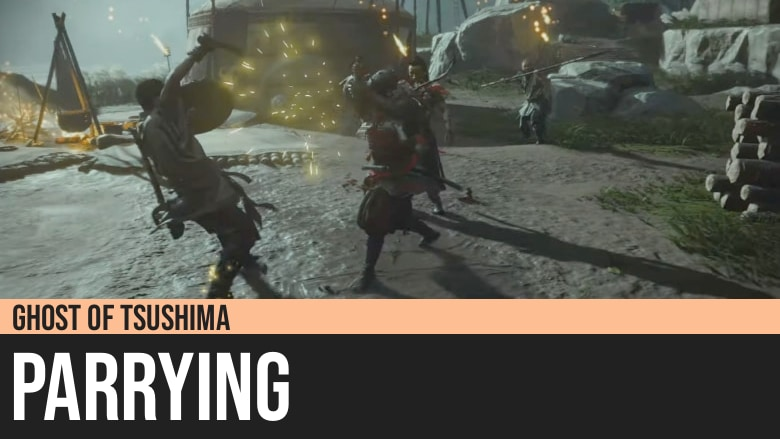 Ghost of Tsushima: Parrying