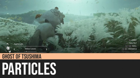 Ghost of Tsushima: Particles