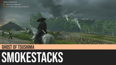 Ghost of Tsushima: Smokestacks