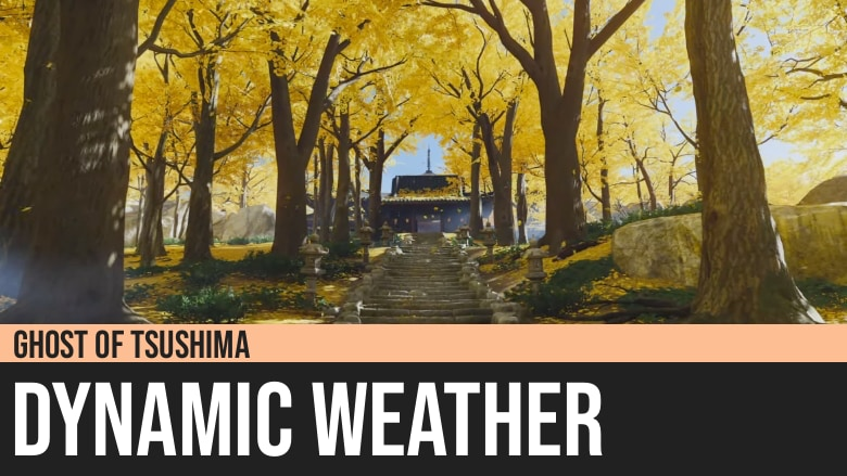Ghost of Tsushima: Dynamic Weather