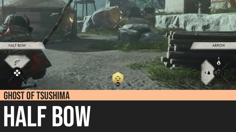 Ghost of Tsushima: Half Bow
