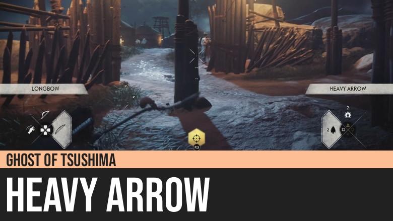 Ghost of Tsushima: Heavy Arrow