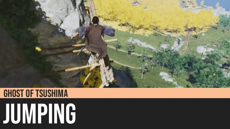 Ghost of Tsushima: Jumping