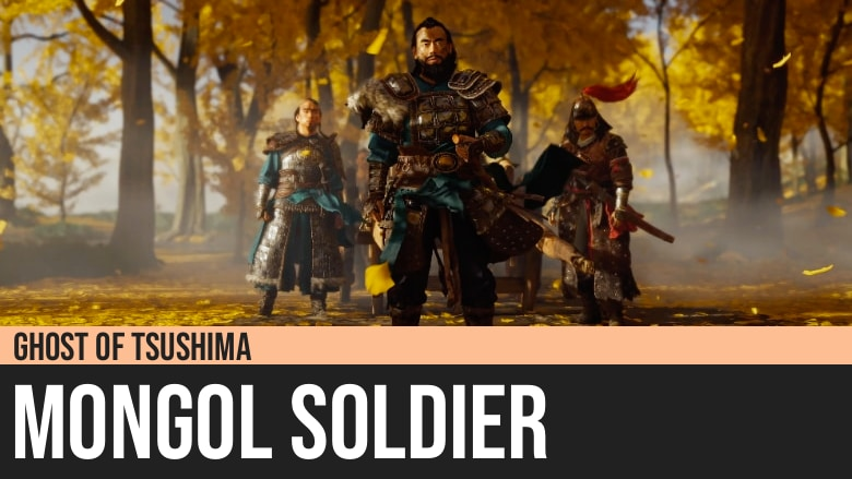 Ghost of Tsushima: Mongol Soldier