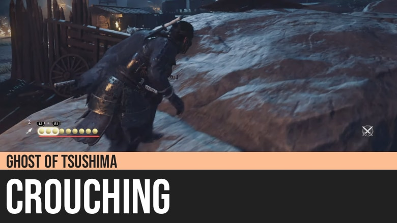 Ghost of Tsushima: Crouching