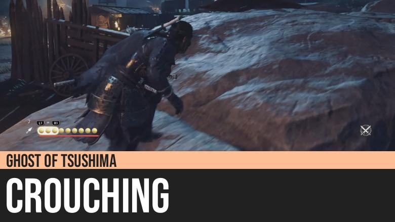Ghost of Tsushima: Crouching