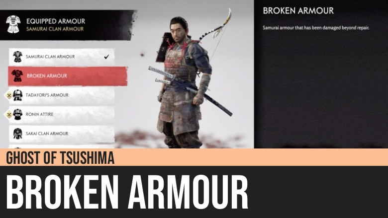 Ghost of Tsushima: Broken Armor