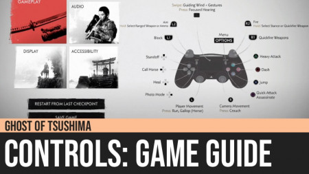 Ghost of Tsushima: Controls Guide