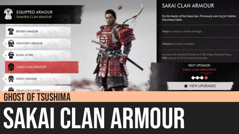 Ghost of Tsushima: Sakai Clan Armour