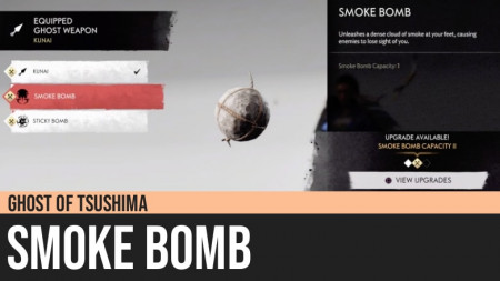 Ghost of Tsushima: Smoke Bomb