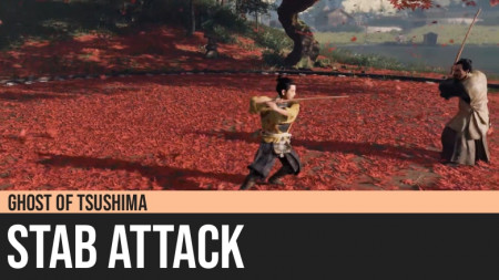 Ghost of Tsushima: Stab Attack