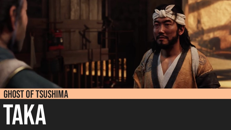 Ghost of Tsushima: Taka