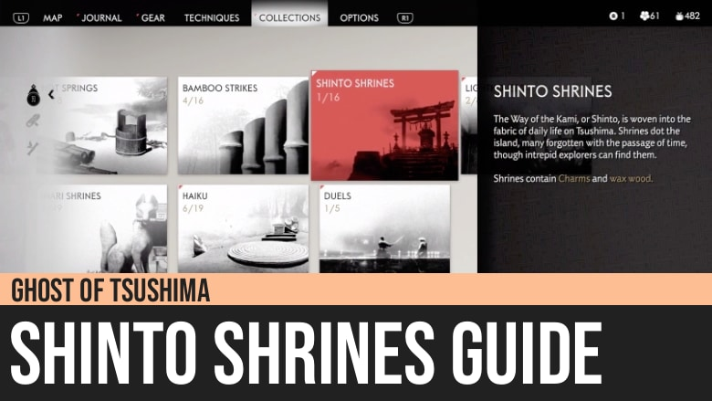 Ghost of Tsushima: Shinto Shrines