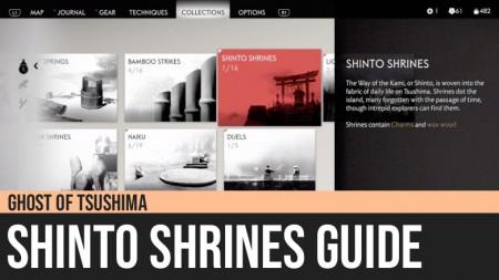 Ghost of Tsushima: Shinto Shrines
