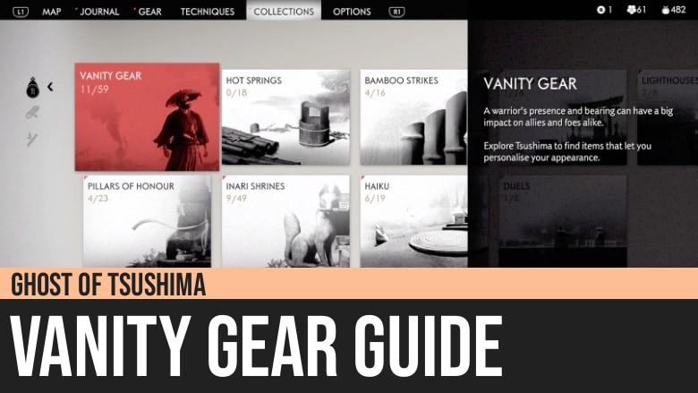 Ghost of Tsushima: Vanity Gear