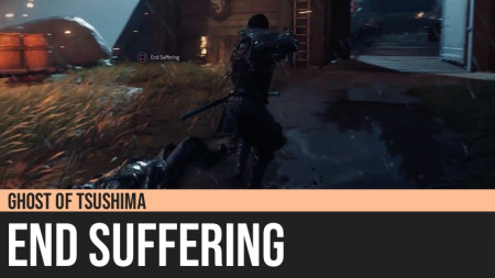 Ghost of Tsushima: End Suffering