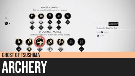 Ghost of Tsushima: Archery