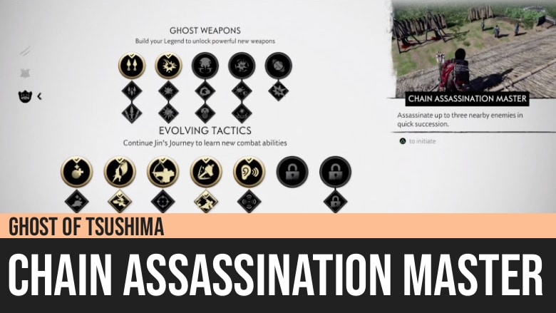 Ghost of Tsushima: Chain Assassination Master
