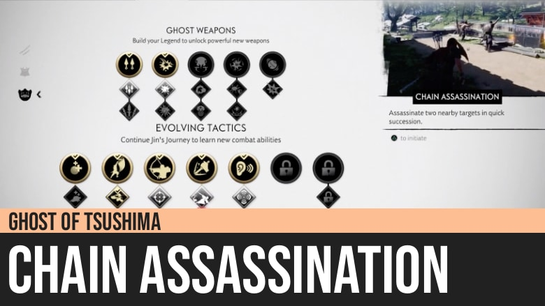 Ghost of Tsushima: Chain Assassination Technique