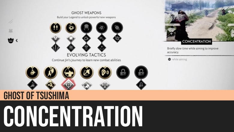 Ghost of Tsushima: Concentration