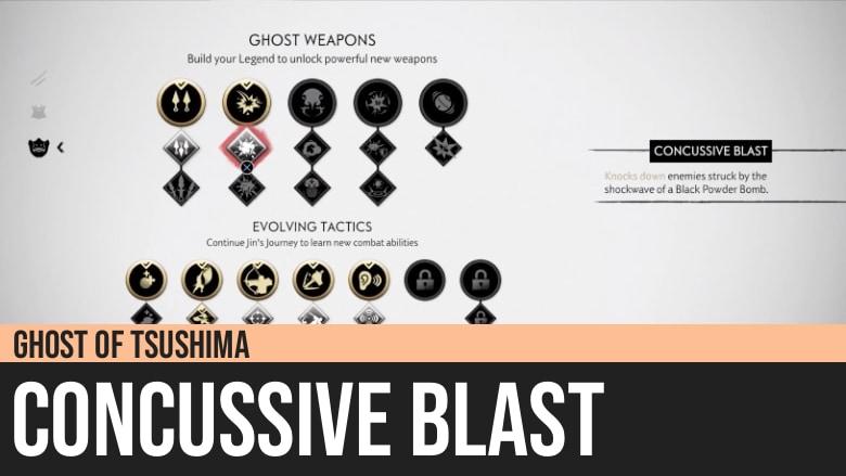 Ghost of Tsushima: Concussive Blast