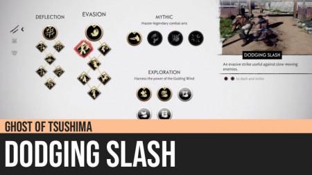 Ghost of Tsushima: Dodging Slash