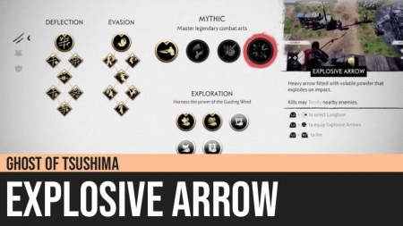 Ghost of Tsushima: Explosive Arrow