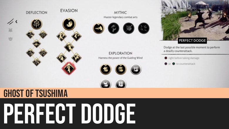Ghost of Tsushima: Perfect Dodge