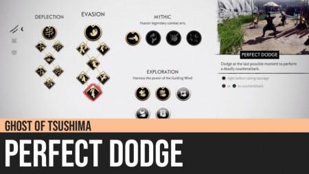 Ghost of Tsushima: Perfect Dodge