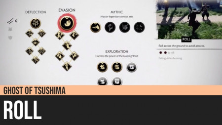 Ghost of Tsushima: Roll